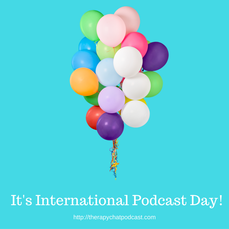 International Podcast Day image Canva