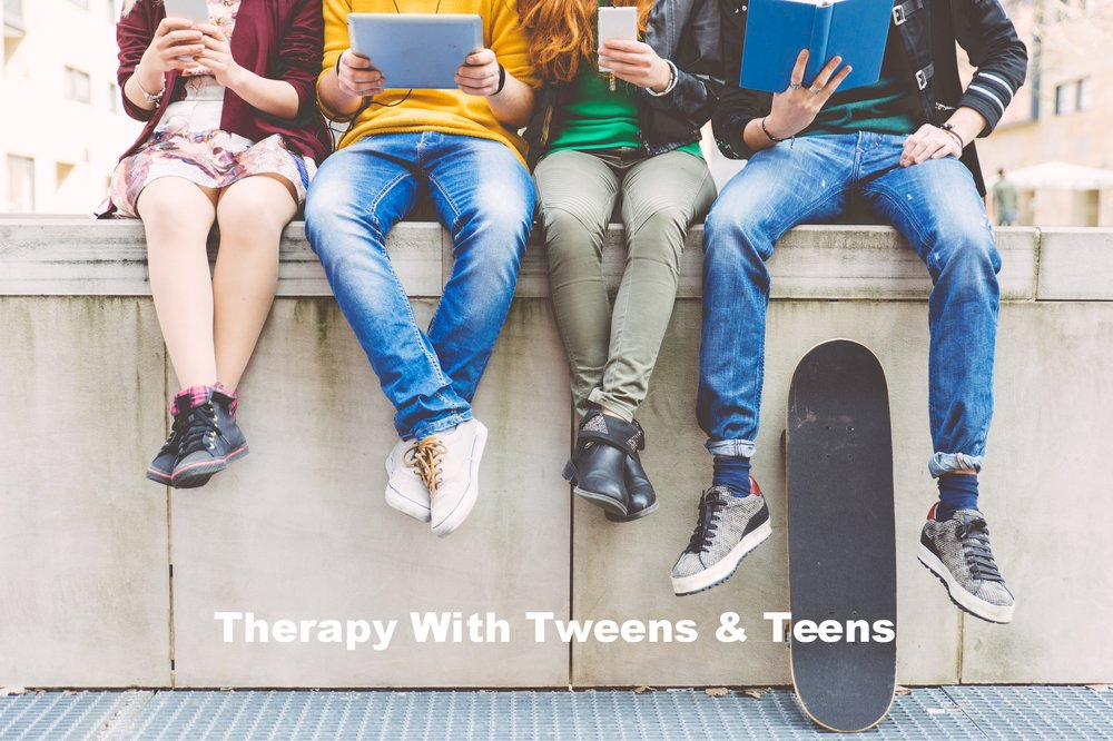 Therapy With Tweens & Teens