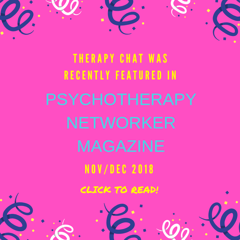 Therapy Chat Featured!