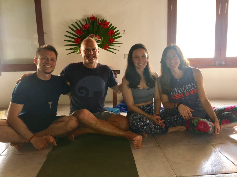 Big love and thanks to these wonderful teachers, Quinn Kearney & Claire Mark! You can practice with them too at Yogaview! Check out this studio and their schedules at the link below.