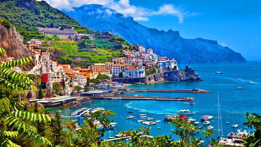 The Amalfi Coast. Looking pretty tempting...