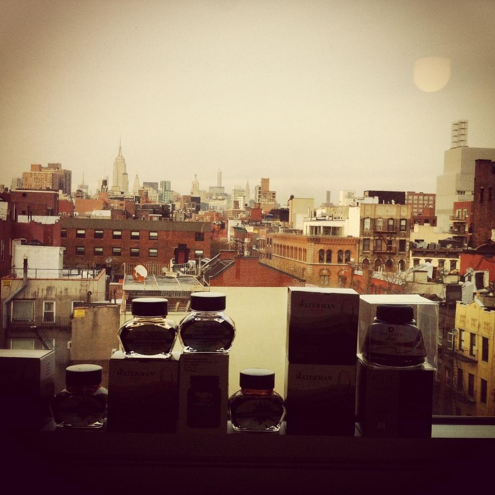 ..here is my inkline towards New York`s skyline...