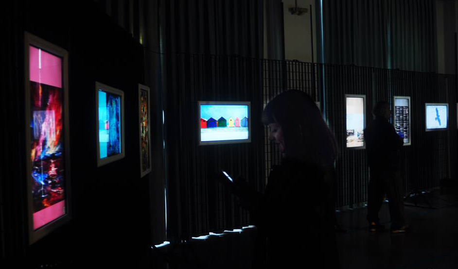 Here are a glimpse of the digital exhibition. One of my works are nr. 3 from the right.