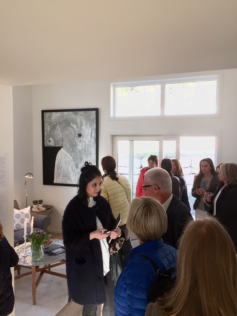In one hour Art in a House was Full House - in every floor!
