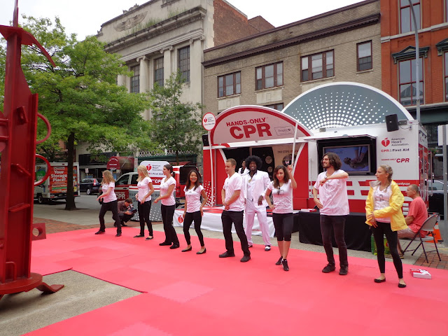 American Heart Association - Hand Only CPR Tour