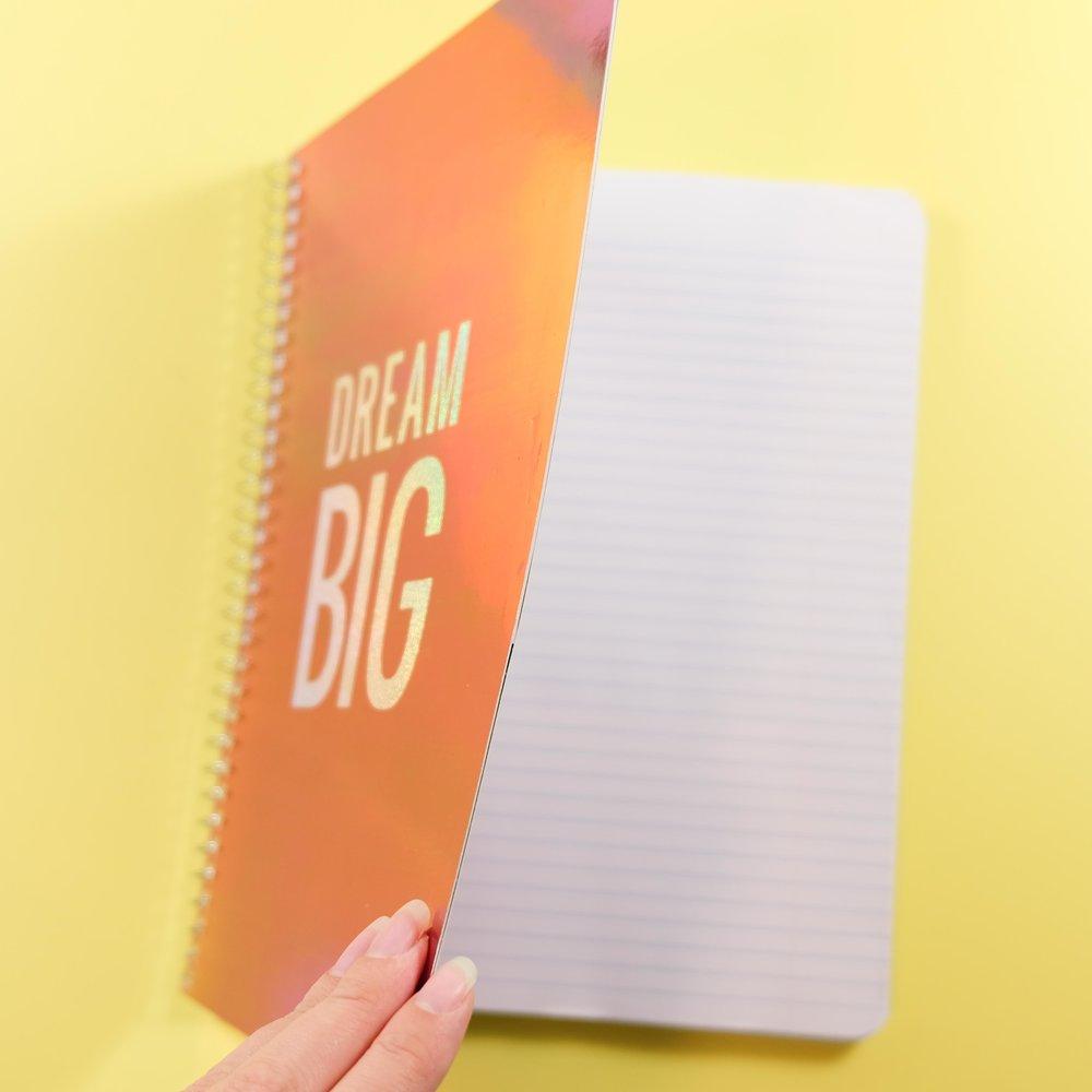 Diy School Book Cover ~ Diy dollar store journal u dime culture