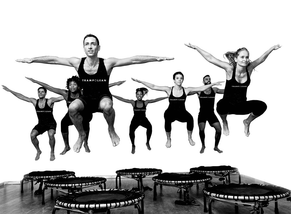"""Trampoline workouts help circulate blood and oxygen to all tissues in the body, including the brain."""" TIME magazine"""