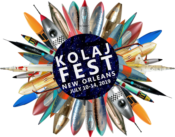Morgan Jesse Lappin of the BCC will be proudly be participating in the first of its kind, KOLAJ Collage FEST.