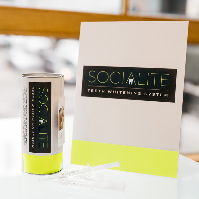 Socialite Teeth Whitening System