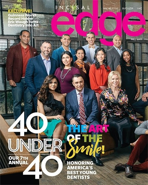 Dr. Katie was awarded Incisal Edge Magazine's Top 40 under 40. - Her mission is recognized throughout the community.