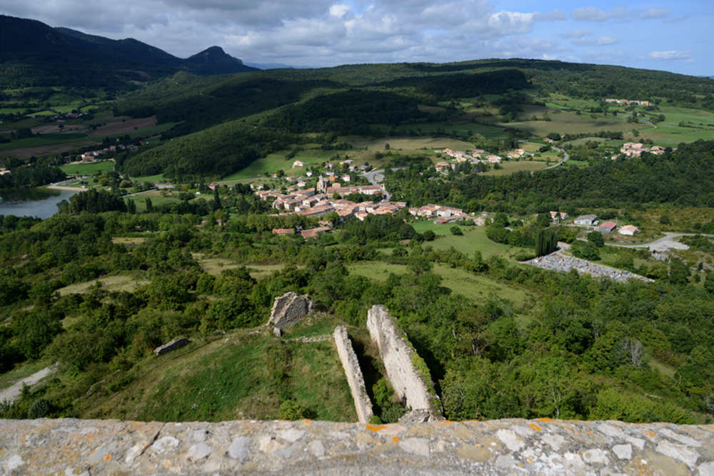 Views from Château de Puivert