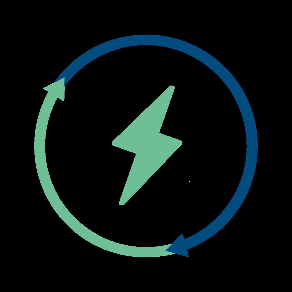 positive energy energy modeling logo