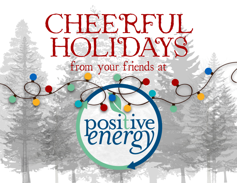 Positive Energy Holiday Card