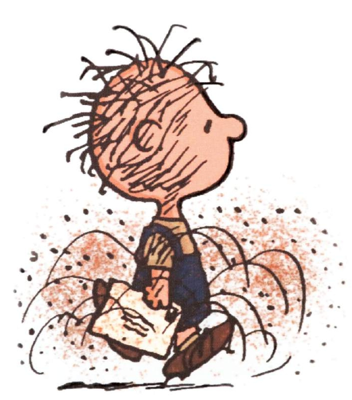 Pigpen by Charles M. Schulz