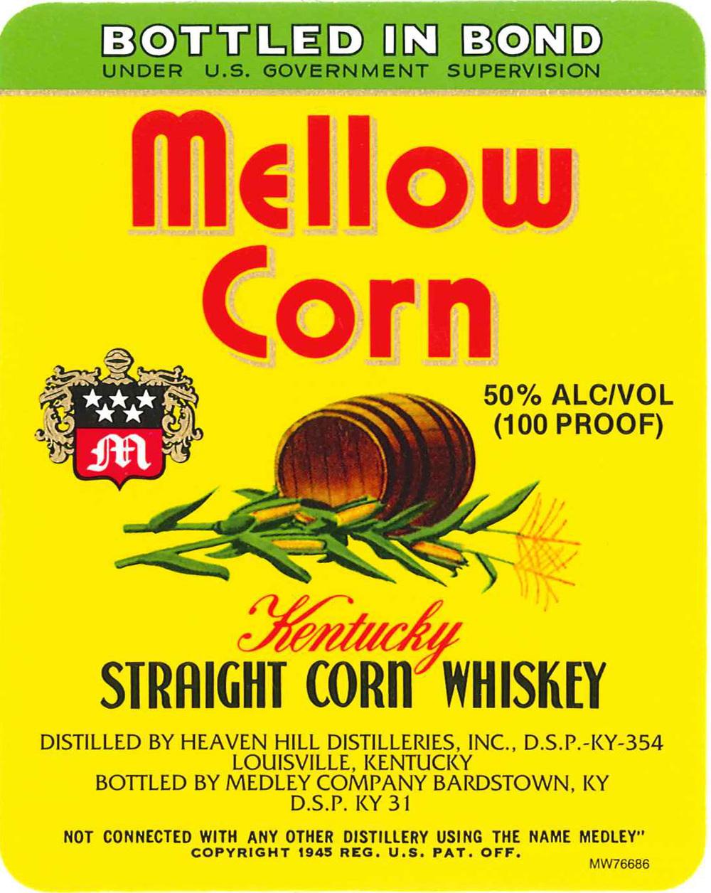 Mellow Corn Whiskey