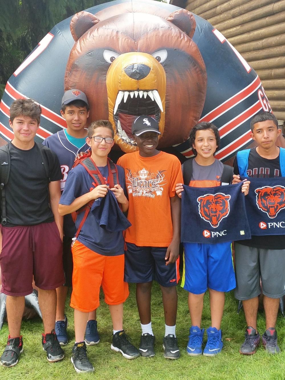 Bears Training Camp
