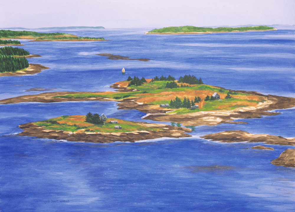 Islands From Above