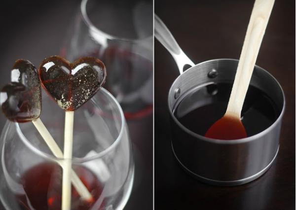 Wine Lollipops Recipe by Nationaldrinkwineday.org