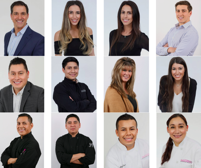 2018:  Photograph of a few of our dynamic team members!