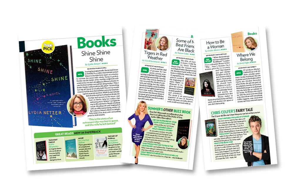 """""""Books"""" layouts"""