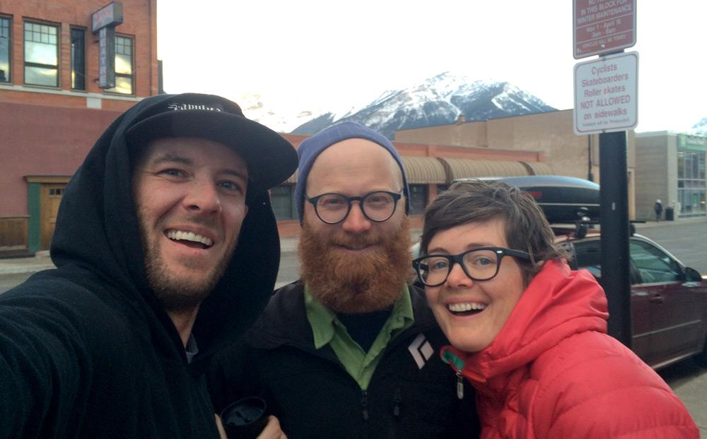 Davis, Kyle, and I