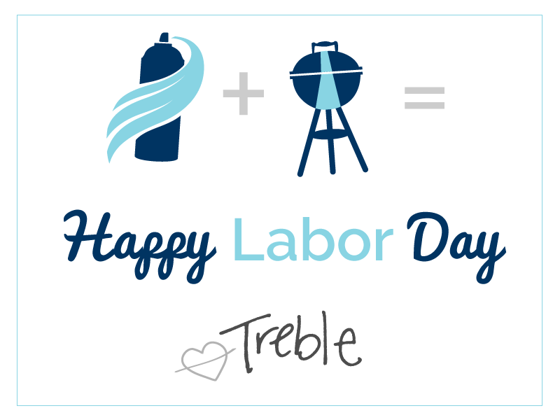 Treble Labor Day