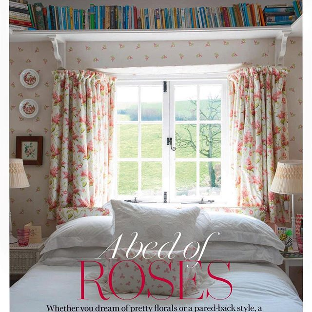 Planting roses today on this beautiful sunny Sunday. Another great shot from @huntleyhedworth for @countrylivinguk