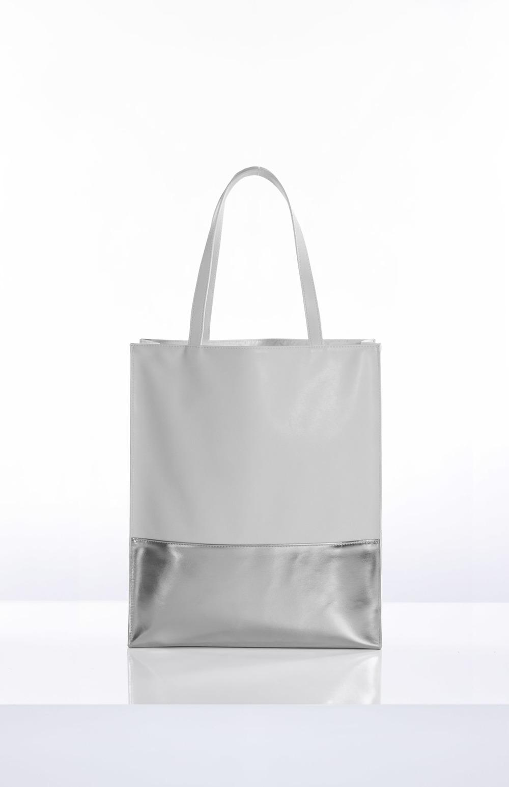 AURORA- White + Platinum Gusset