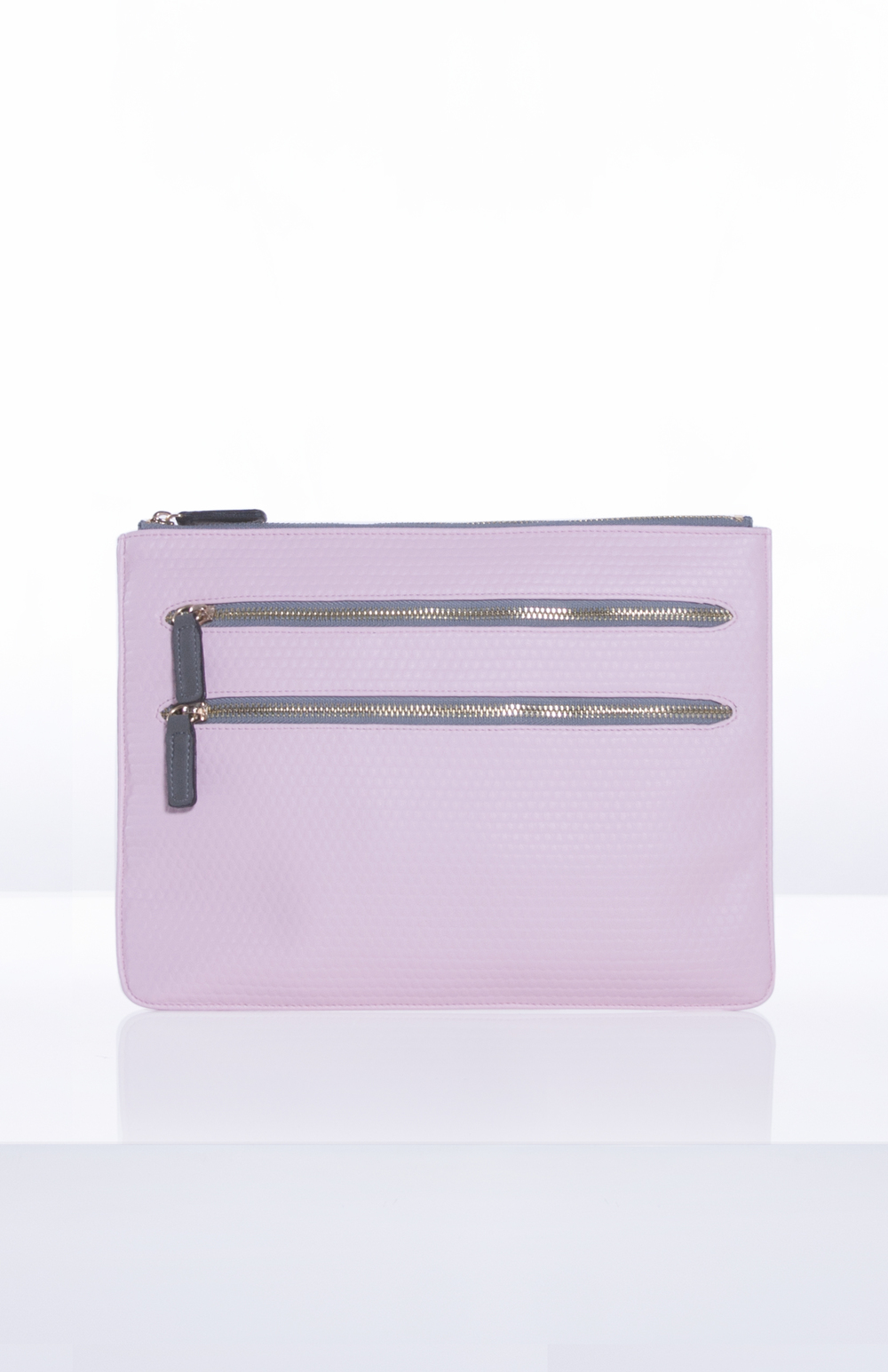 MILLY TECH POUCH- Blush Bubble PU