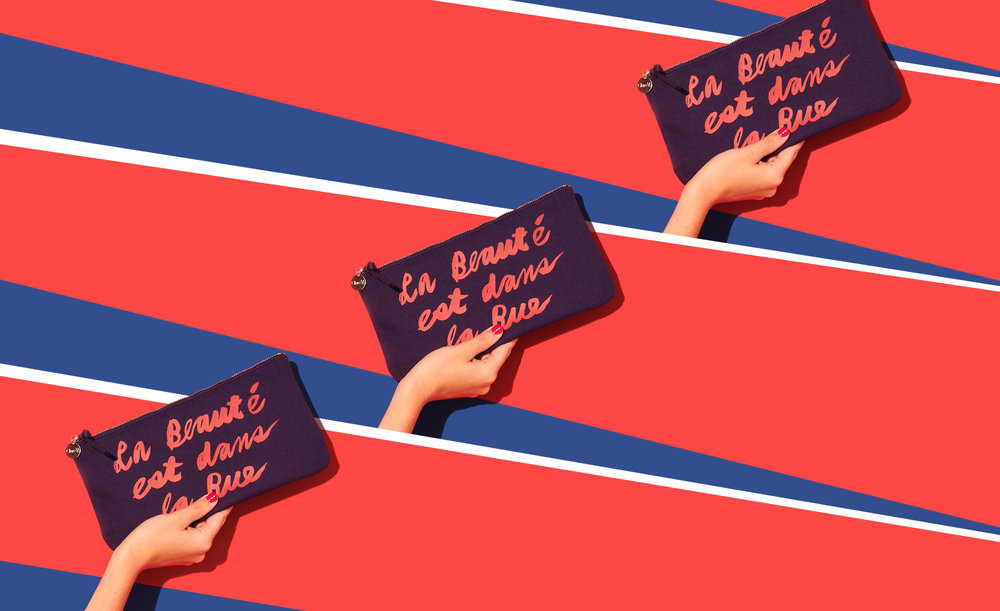 Sephora Collection x Clare V Agnes Clutch created by Verge Creative Group