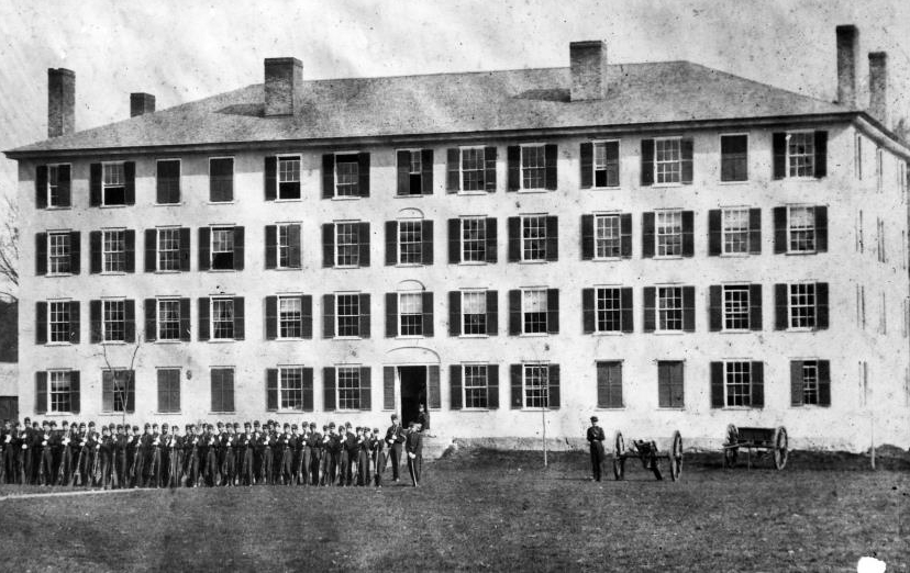 The old south barracks at norwich university