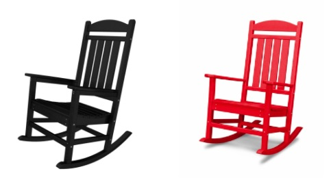 The UGA Theta Chi Parents' Club is proud to be offering the opportunity to provide the fraternity with 12 brand new Polywood Rocking Chairs to be used on the front porches!  -