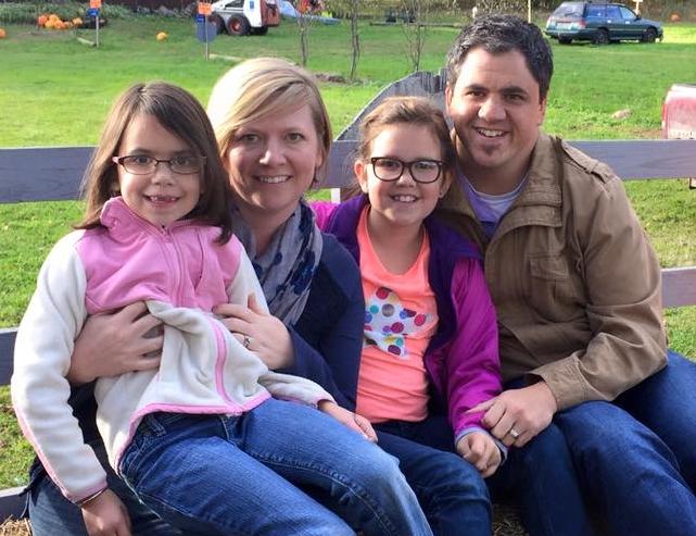 Left to right- Celia, Brittany, Elise, and Jeremy Lenertz
