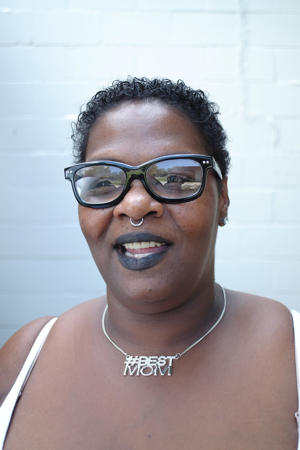 Da'Wanda helps manage Sacred Suds, a community center for neighbors who gather to do laundry, eat meals, check their emails, etc. Da'Wanda is an awesome neighbor with a huge heart for the City.  She is also working on a masters degree!