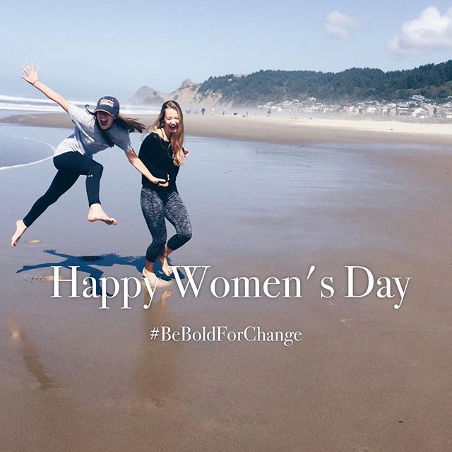 Happy International Women's Day! This year's theme is to #beboldforchange, so don't be afraid to be bold today!
