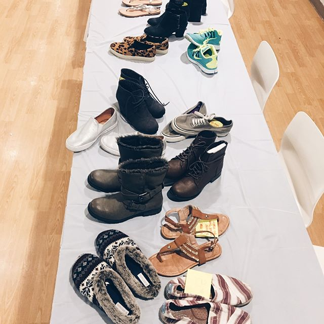 Thank you to •ALL• who came out tonight! Over 90% of the girls who came brought shoes for girls in need!!! We are so excited for what's to come for NuShu Sisters here at George Fox & at campuses across the nation.... #creatingasisterhood