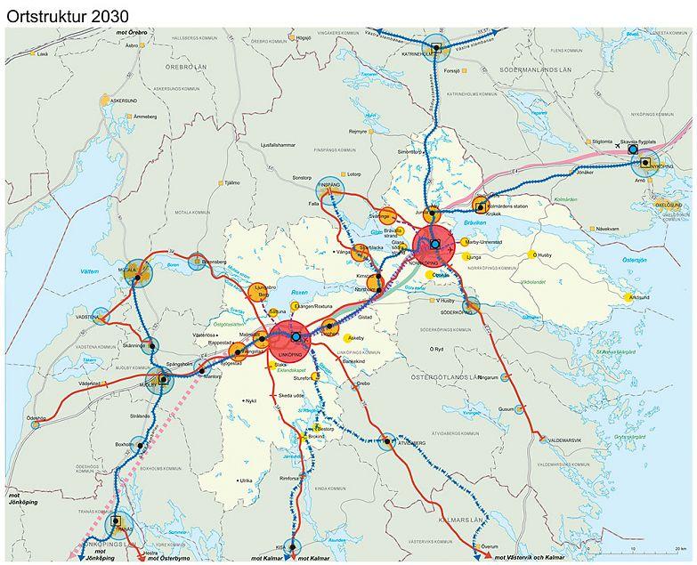 från norrköping till linköping