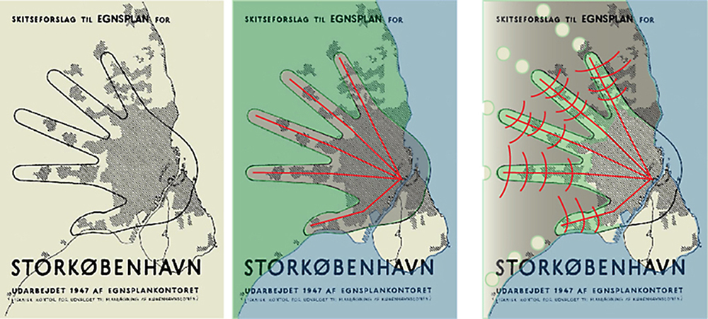 It is common that many cities lose almost all their ecological structures and green corridors including open waterways, productive landscapes and park networks. Most successful modern cities, on the other hand, manage to keep and develop their Blue-Green Infrastructure. Among these cities is Copenhagen with its Green Finger Plan from 1947.