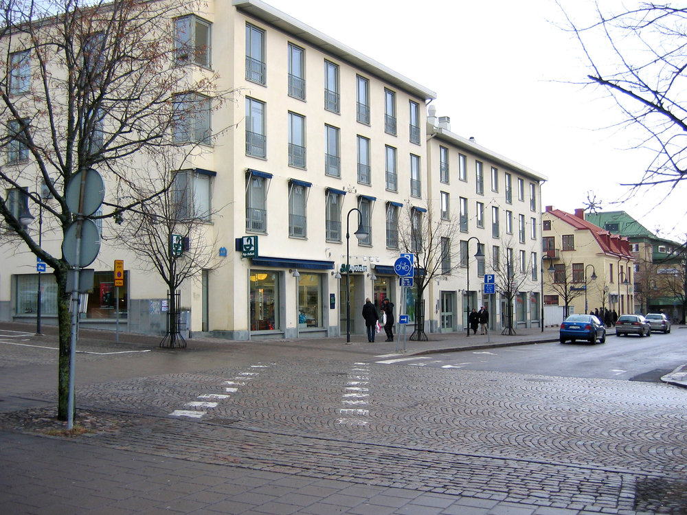 Förtätning i Motala centrum, ritat av Johan Celsing