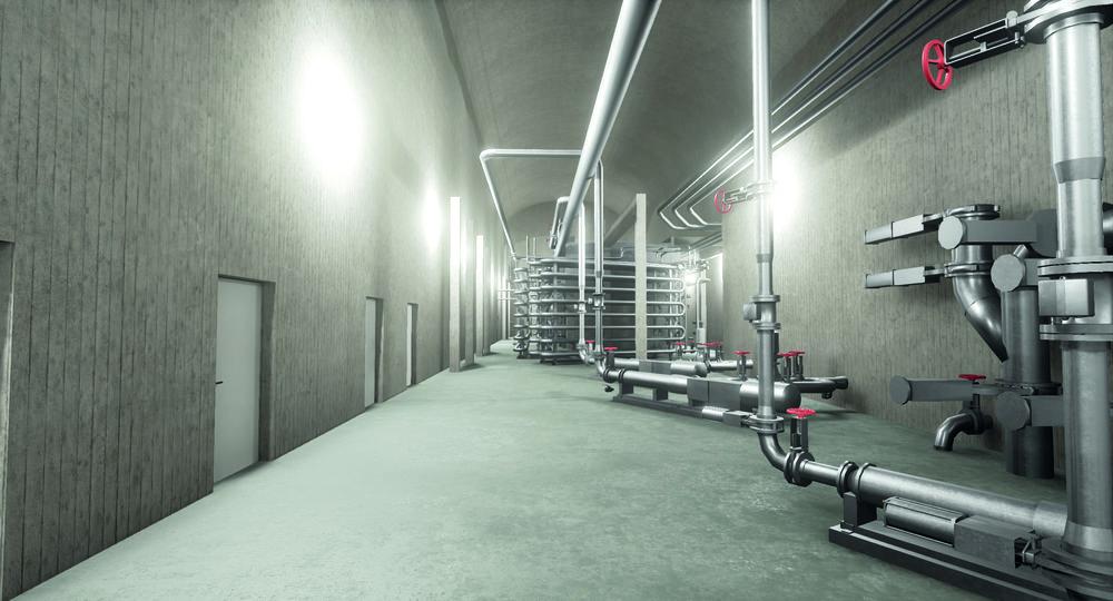 VR-visualisering av reningsverk. Sweco