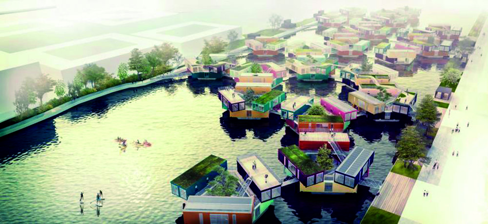 Med start år 2016 och 2017 ska det byggas temporära bostäder i Frihamnen. Temporära bostäder i Frihamnen är en del i arbetet med visionen för Älvstaden, och strategier för att utforma en socialt blandad stad med plats för alla finns med redan från början.
