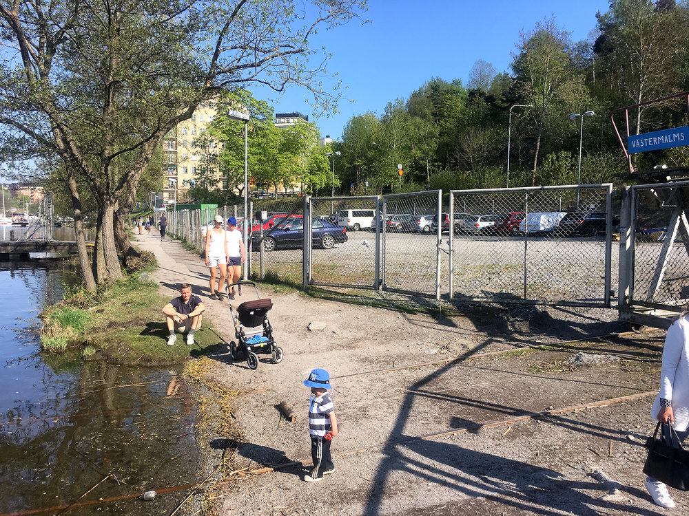 Tät kvartersstad. Författarens bild.
