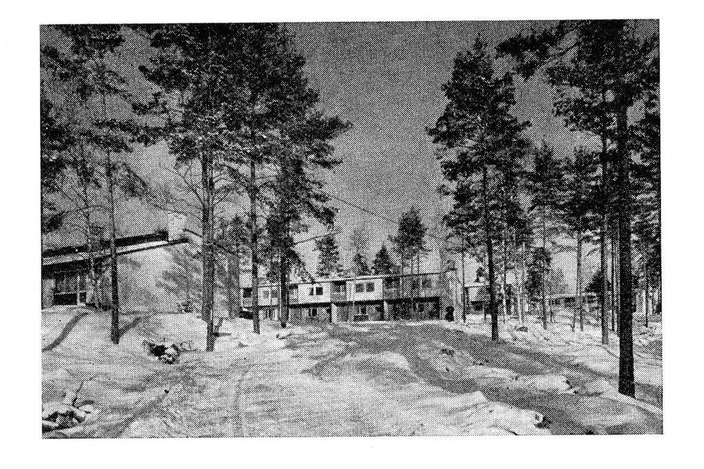 Foton på områdena Hässelby VIII och IX ur Småstugebyråns huskatalog 1959-60