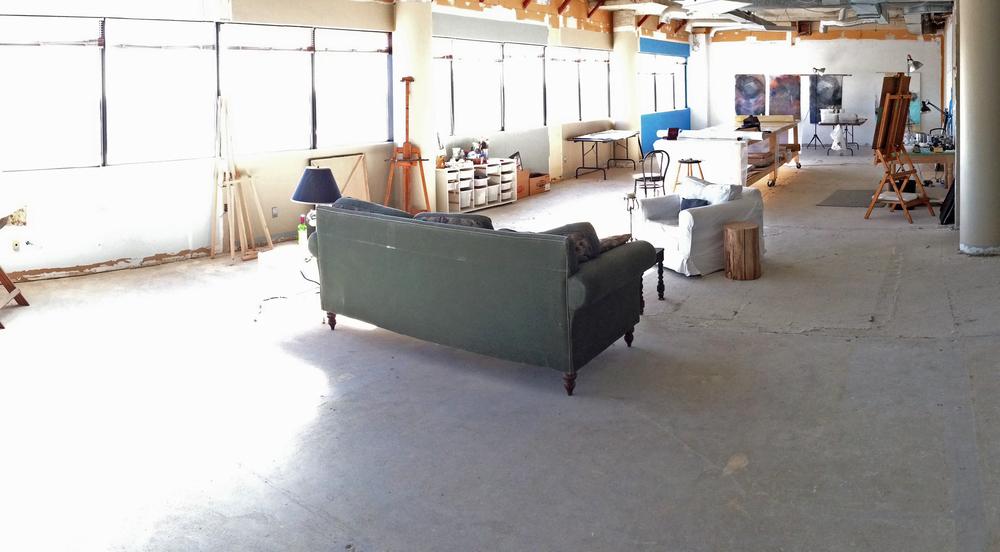Karen's studio