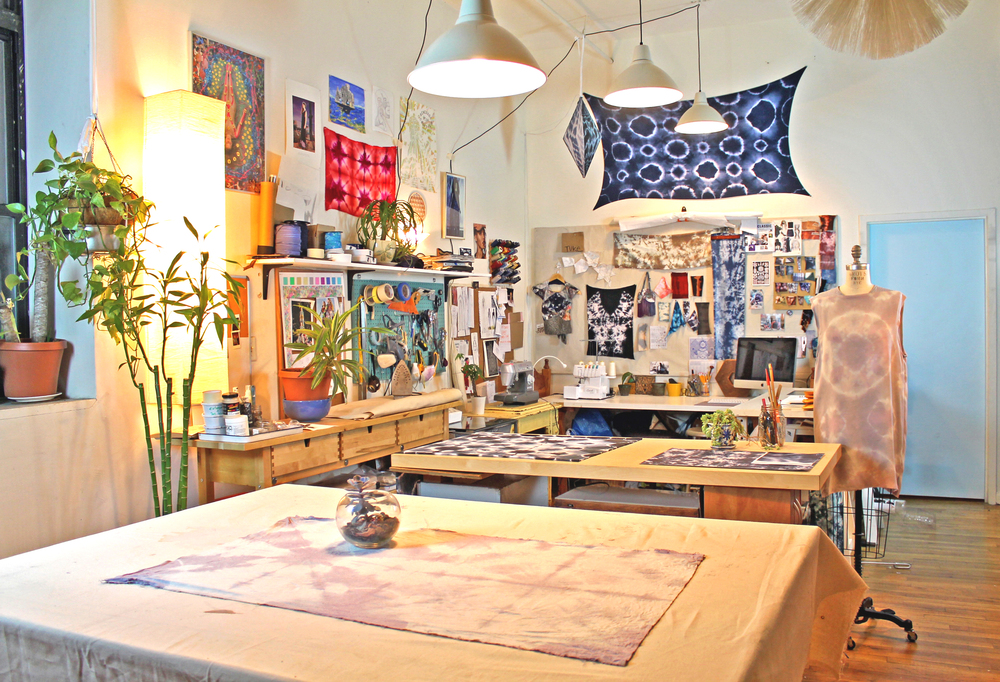 Inside the Hanoux studio