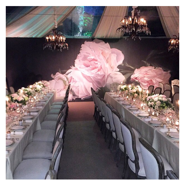 Billy Evers / Private Event                                      Los Angeles, CA     Thomas Darnell – Peonies Pink