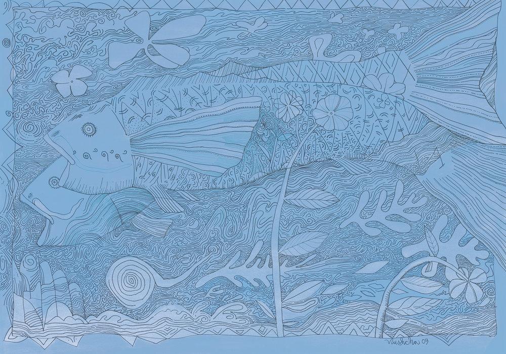 Pisces (Blue)