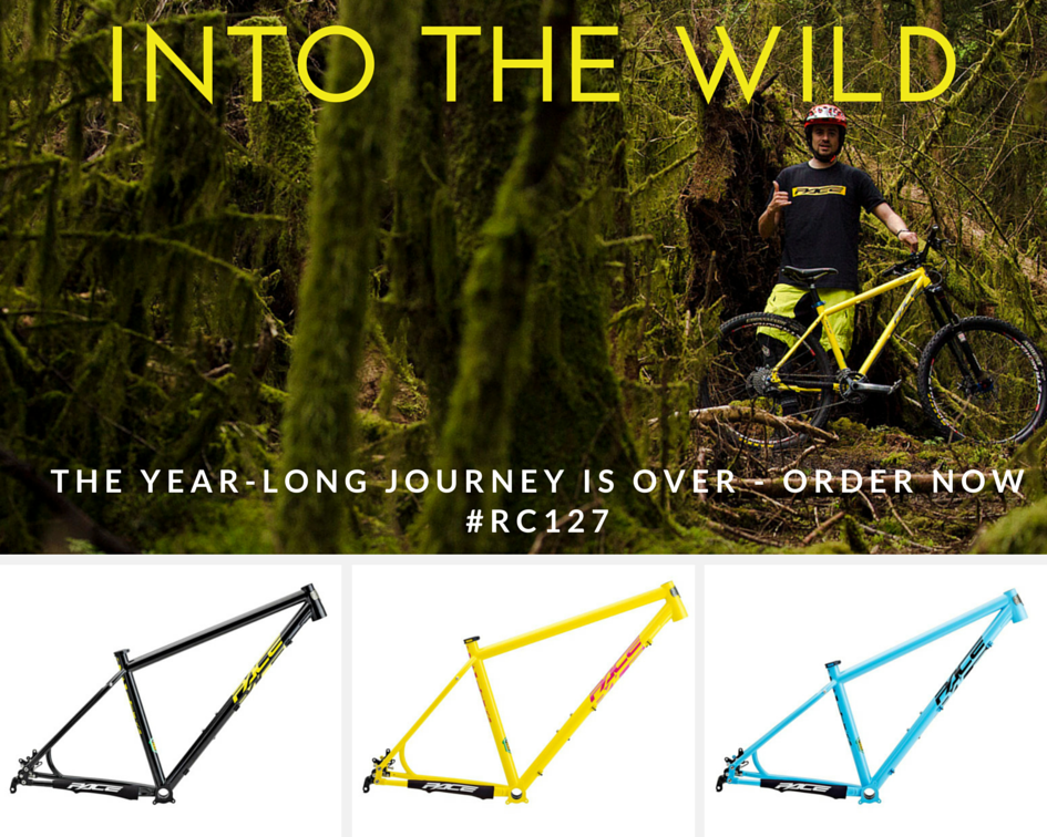 INTO THE WILD RC127 IN STOCK ORDER NOW
