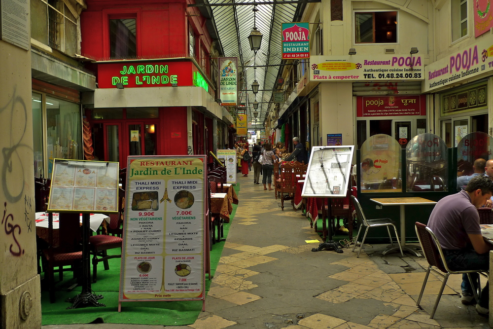 Passage Brady proves Paris' diversity even follows through to the alleyways.