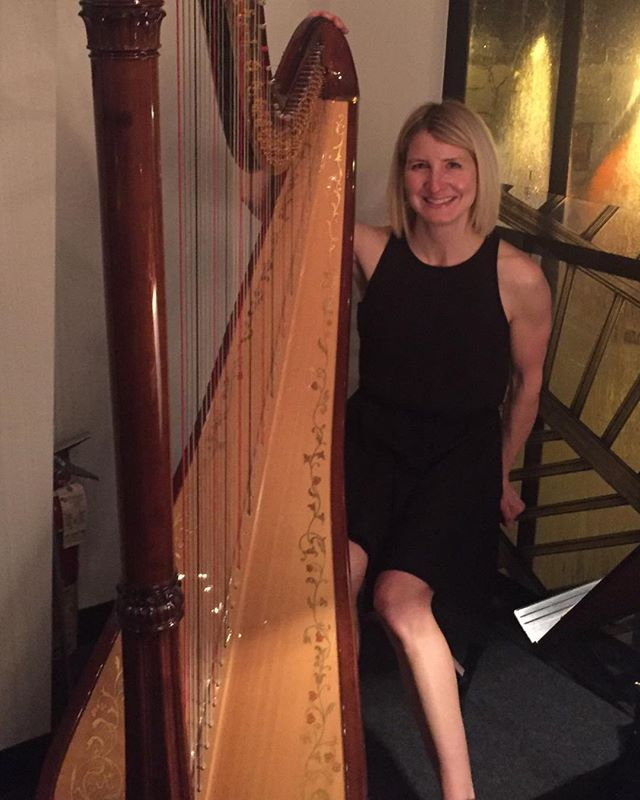 Harp music for the holidays!